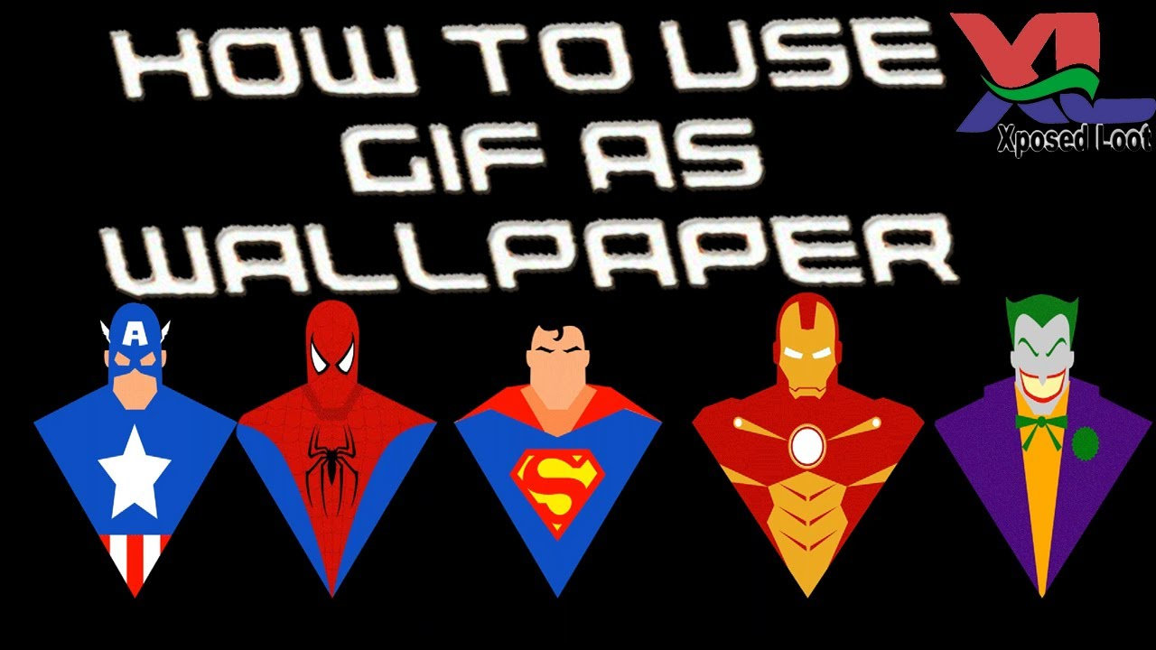 How To Set Gif Live Wallpaper In Your Phone 100 Working