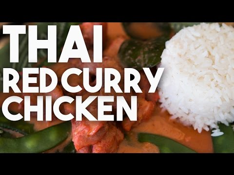 Thai Red Curry Chicken – Super Easy Recipe