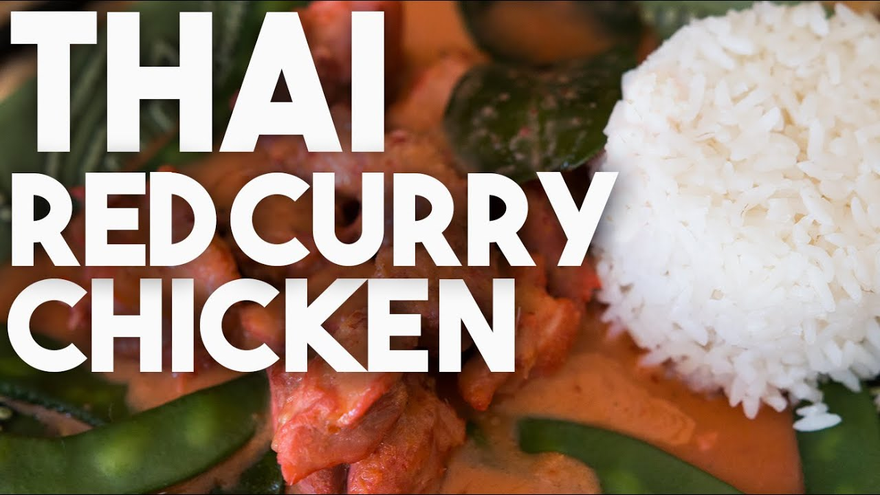 Easy recipe thai red curry