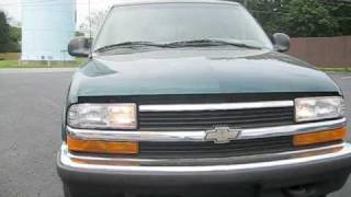 Start Up and Drive the 1998 Chevrolet Blazer