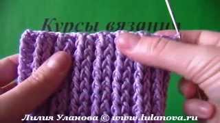 Шапка рельефная Мальвина  - 2 часть - вязание крючком