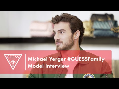 Michael Yerger #GUESSFamily Model Interview<br><br...
