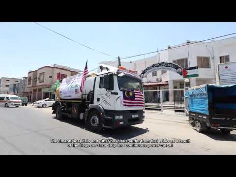 Providing fuel for MOH hospitals in Gaza Strip