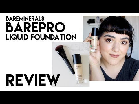bareMinerals barePRO Performance Wear Liquid Foundation | Review