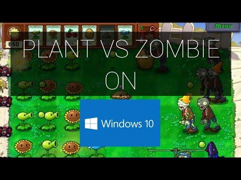 Tutorial - Cara Memainkan Plant Vs Zombie Di Win 10 - Plant Vs Zombie Download Win 10