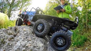 Lego Truck Trial in Poland: 2016 final with CRASHES