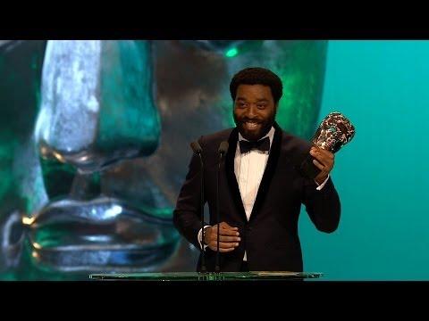 Chiwetel Ejiofor wins Best Leading Actor Bafta - The British Academy Film Awards 2014 - BBC One