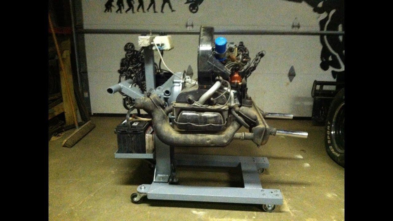 medium resolution of building a volkswagen engine stand start up stand