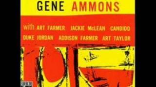 "Gene Ammons ""The Happy Blues"""