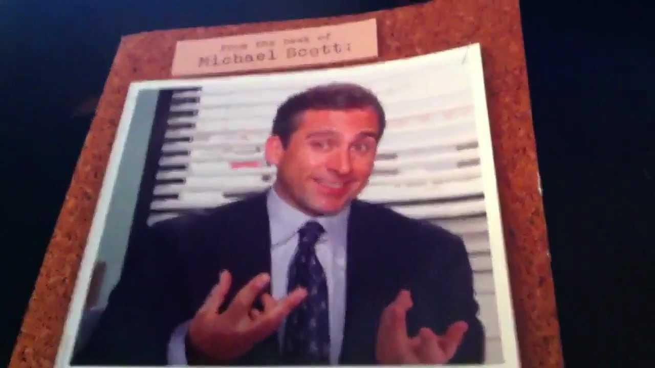 Michael scott birthday card demon youtube bookmarktalkfo Images