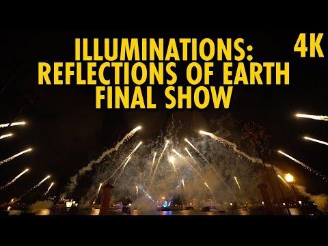 IllumiNations: Reflections Of Earth Final Show | Walt Disney World