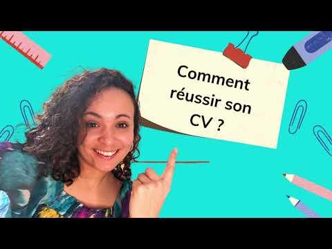 COMMENT REUSSIR SON CV ?