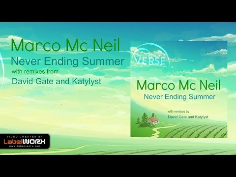 Marco Mc Neil - Never Ending Summer (David Gate Remix) VERSE Recordings