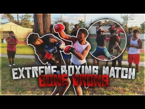 EXTREME BOXING MATCH GONE WRONG *THEY REALLY FOUGHT*