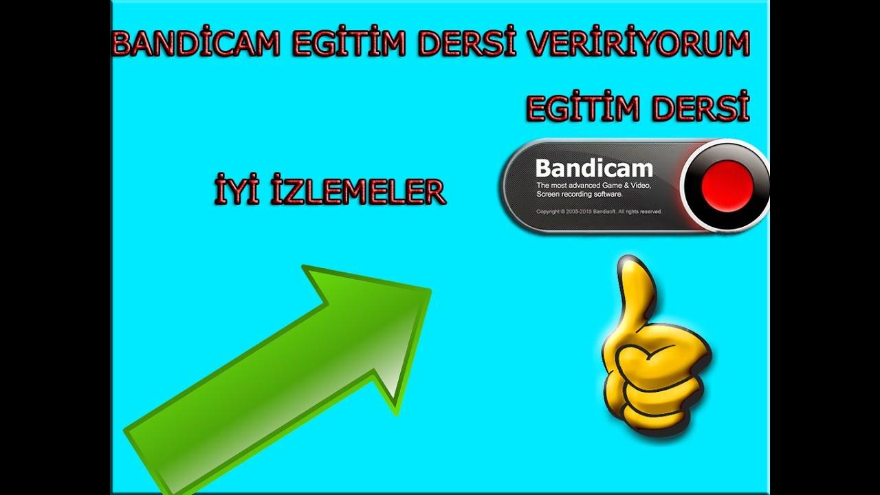 Bandicam: programı nasıl kullanılır