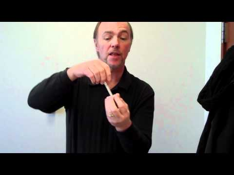 Disappearing Cigarette Trick - How To Do Sleight Of Hand Magic