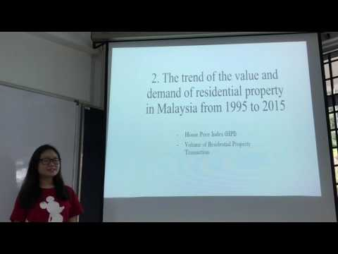 Macroeconomics IIID video presentation : Malaysian Economy and Residential Property Market