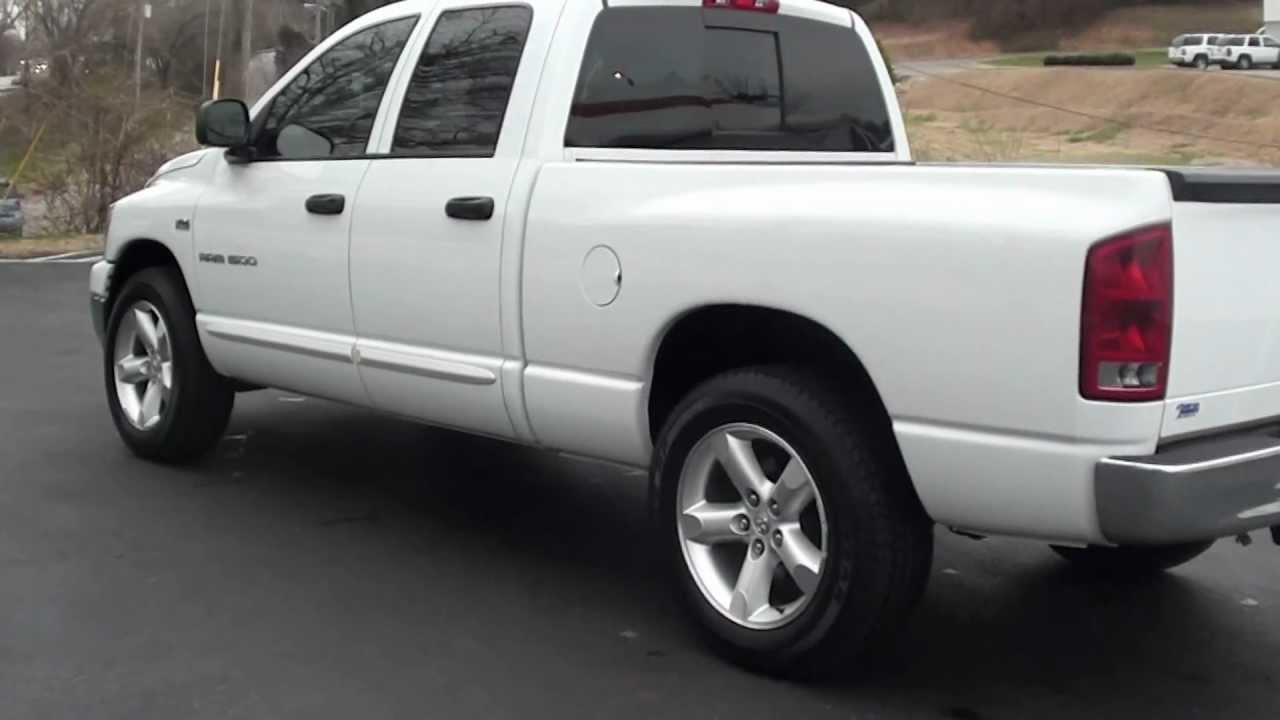 For sale 2006 dodge ram 1500 slt quad cab stk 110153a www lcford com youtube