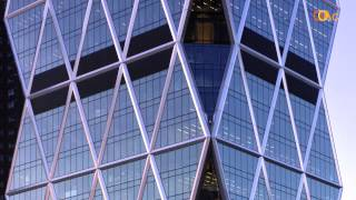 2.4 Hearst Tower in NY by Foster and Partners (Contemporary Architecture MOOC)