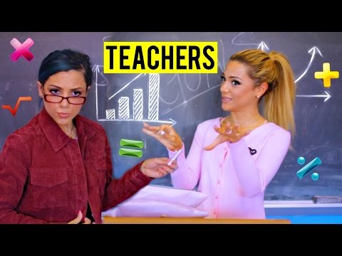Thumbnail: Different Types of Teachers!
