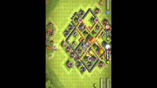Clash of clans avoir tout les cabanes