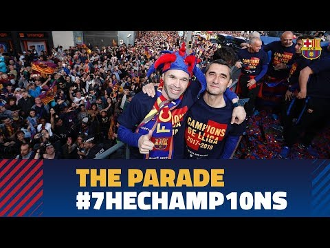 🔥 LIVE:  #7heChamp10ns victory parade