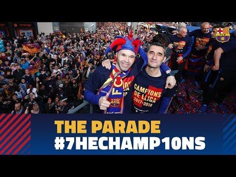 Full stream   #7hechamp10ns victory parade 2018