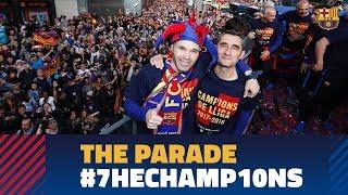 FULL STREAM | #7heChamp10ns victory parade 2018