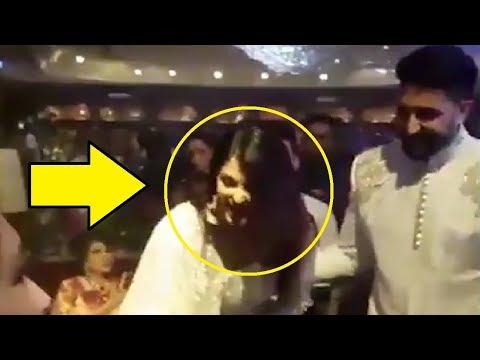 INSIDE VIDEO Of Aishwarya Rai In Sonam Kapoor Wedding Reception