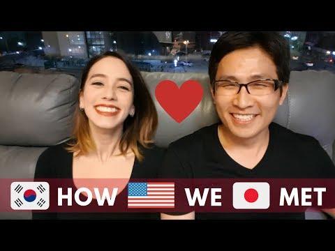 How did we meet? (in Japan) 🇰🇷🇺🇸🇯🇵/어떻게 만났어요?(일본에서)🇰🇷🇺🇸🇯🇵/出会いから付き合いまで(in 日本)🇰🇷🇺🇸🇯🇵