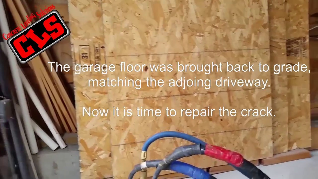 Concrete Garage Floor Raising And Leveling You