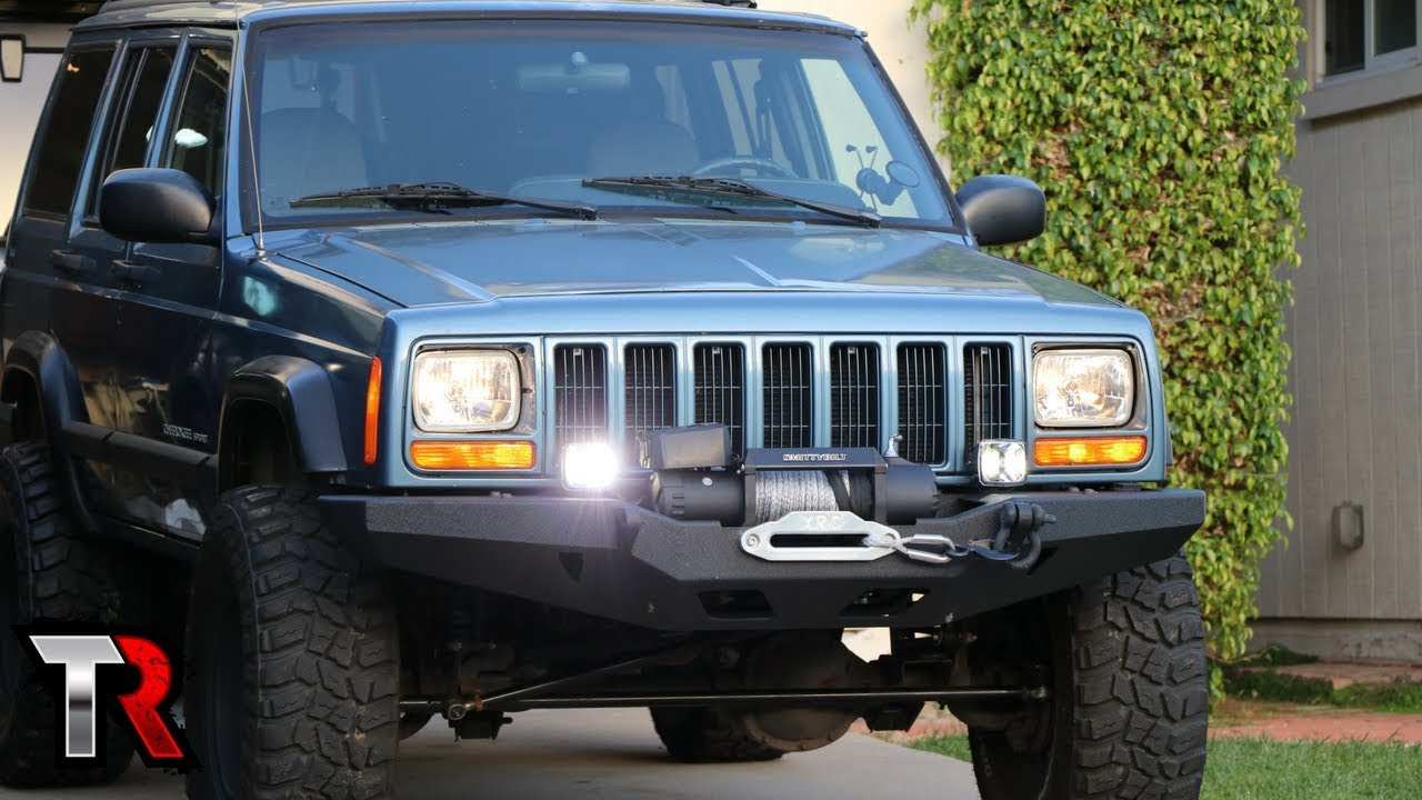 Jeep XJ Off-Road LED Light Install