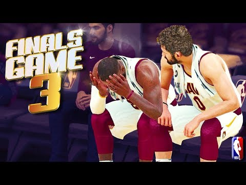 Golden State Warriors vs Cleveland Cavaliers Finals Game 3 - NBA 2K18 Predictions