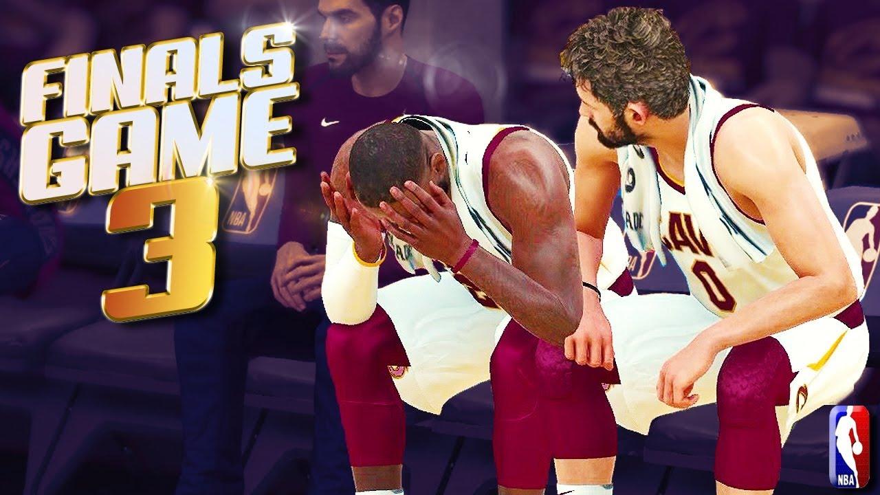 Golden State Warriors vs Cleveland Cavaliers Finals Game 3 - NBA 2K18 Predictions