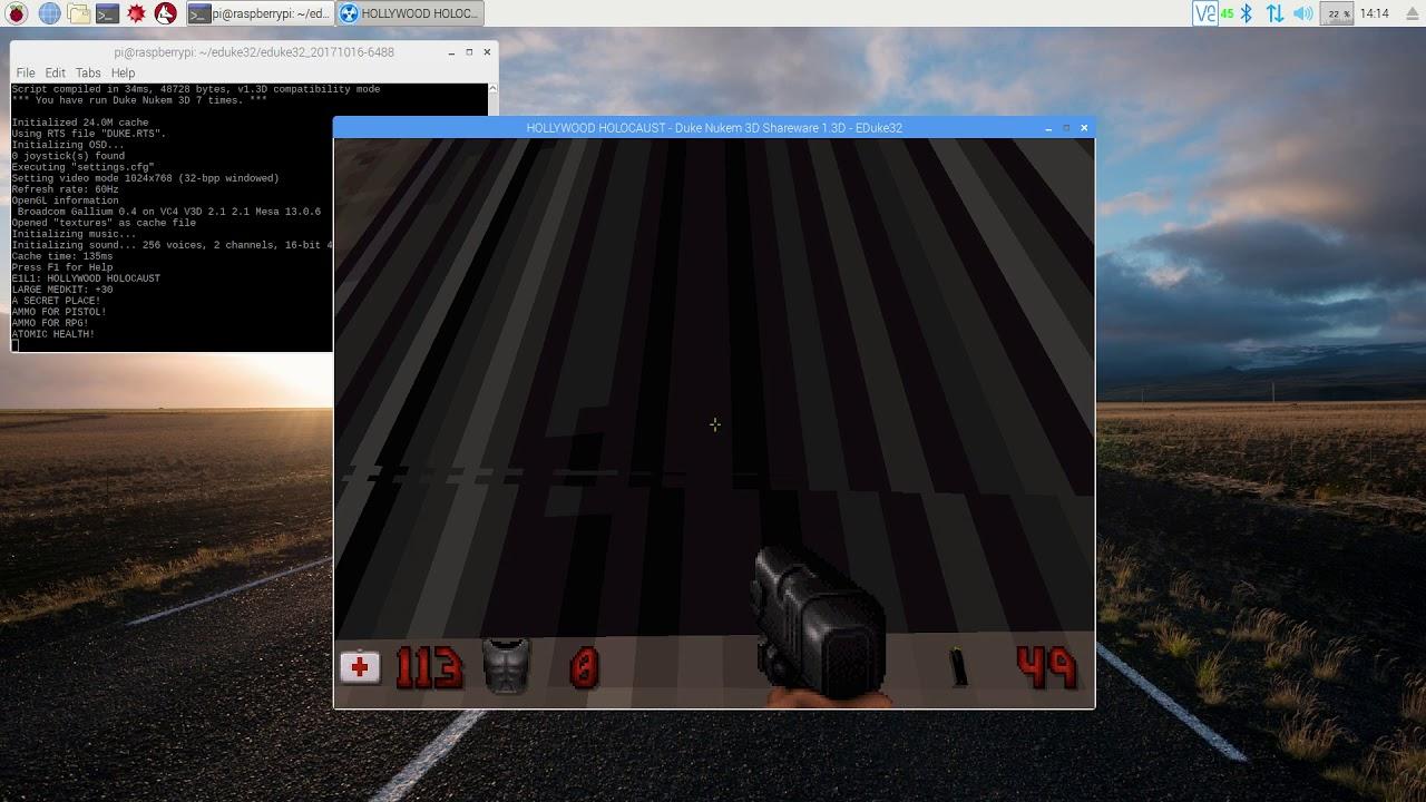 Eduke32 ported to the psvita an open-source port of a no longer.
