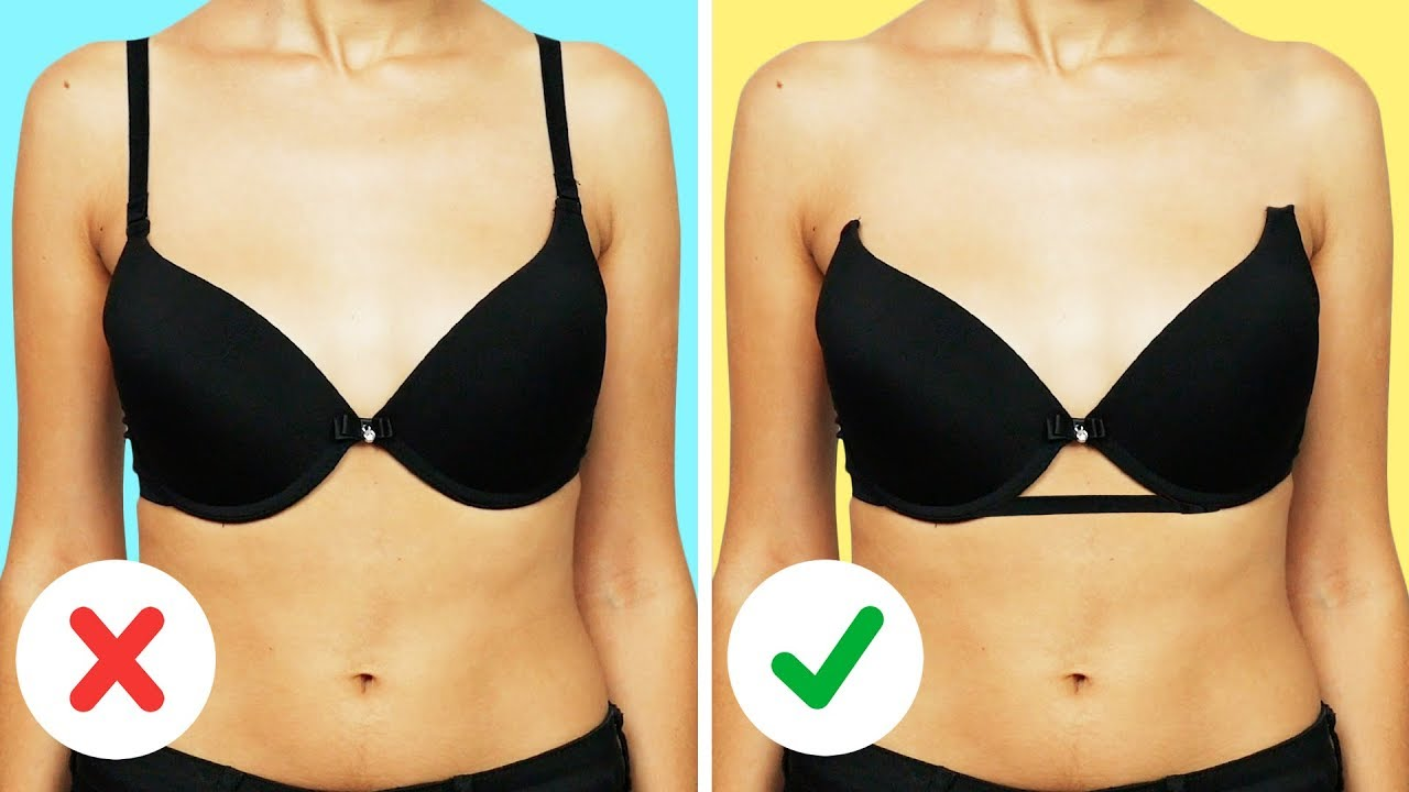 23 BRA HACKS EVERY GIRL SHOULD KNOW