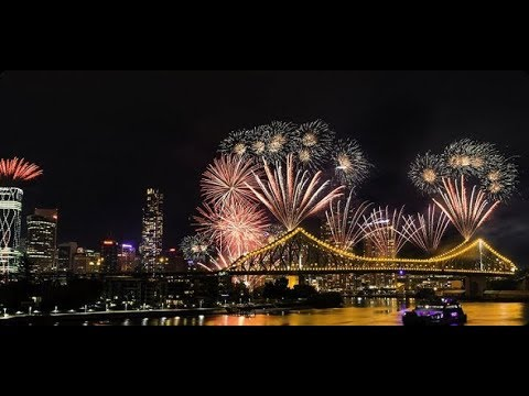 RIVERFIRE 2017 SOUTH BANK PARKLAND BRISBANE