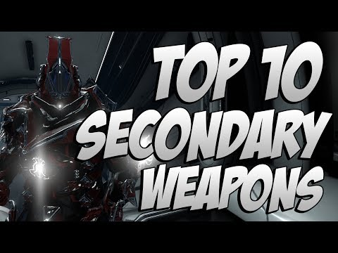 Warframe: Top 10 Secondary Weapons