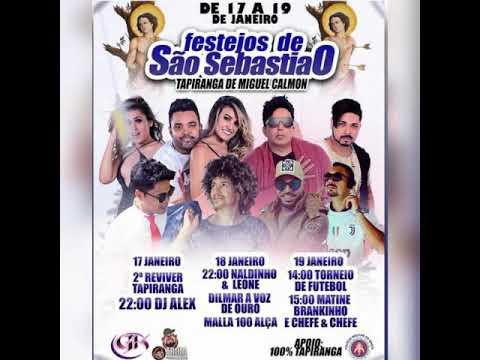 Tradicional festejos de são Sebastião de Tapiranga de Miguel Calmon dias 17,18,19 de janeiro 2020
