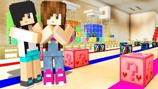 Minecraft Lucky Block - LABORATÓRIO DE EXPERIÊNCIAS