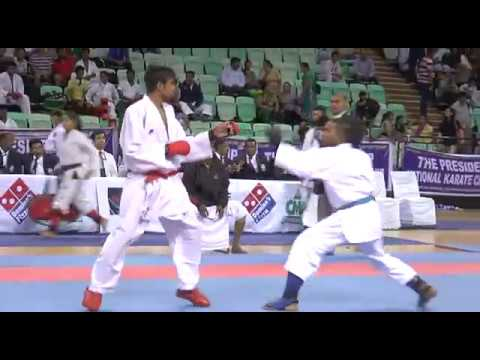Haryana State Karate Champ in the AIKF President Cup - 2015