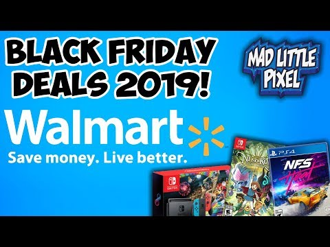 Walmart Black Friday 2019 Ad Gaming Deals! The Best Prices On Switch Games?!
