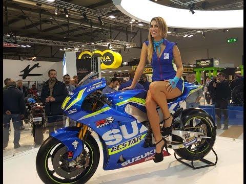 Eicma 2015 Milano: moto e sexy hostess