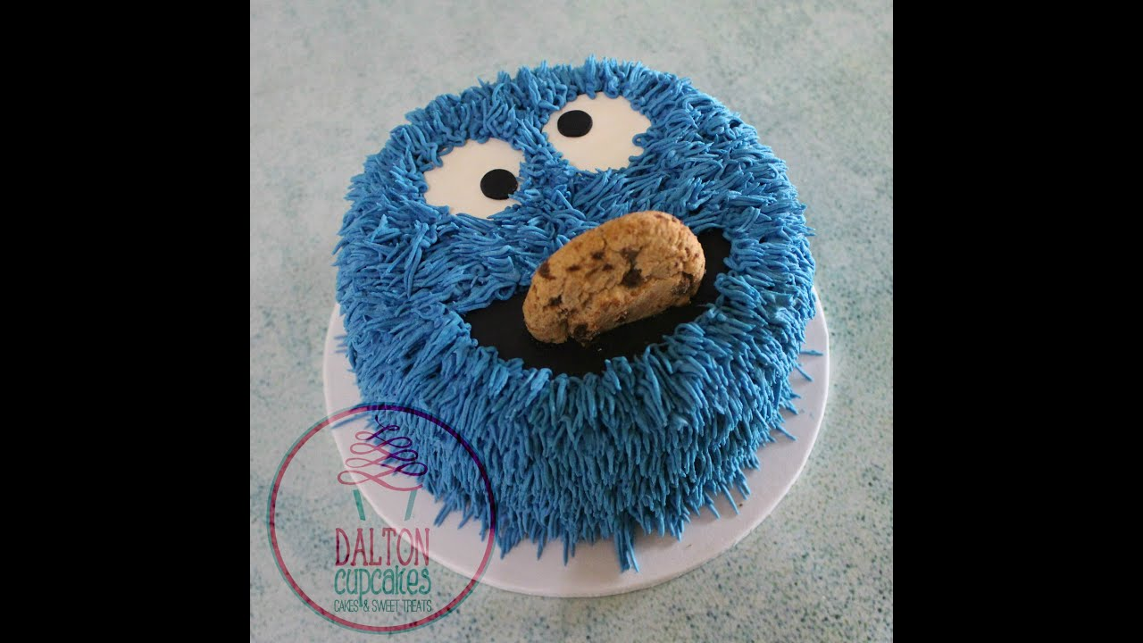 Pictures Of Cookie Monster Cakes