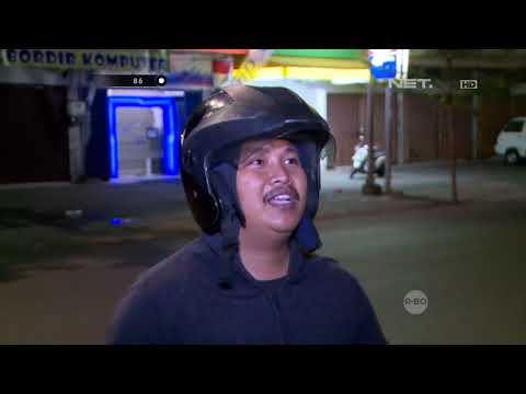 Kabur Melihat Polisi, Anak Ini Menabrak Hingga Terluka