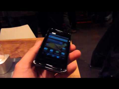 Samsung Galaxy Prevail Hands-on