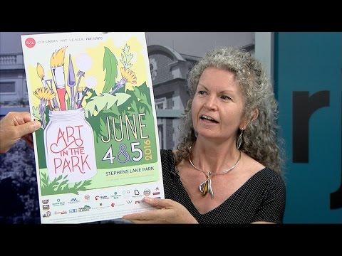 "Paul Pepper: Diana Moxon, Columbia Art League, ""Art in the Park 2016"""