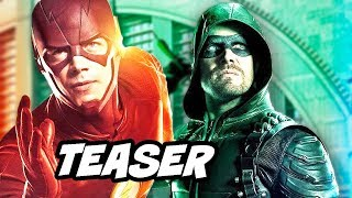 Arrow Season 8 Final Season Teaser - The Flash DCTV Future Explained