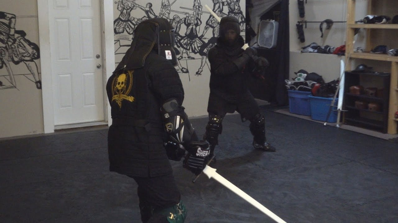 Fighting With Synthetic Longsword And Saber - 15 Dec 2016