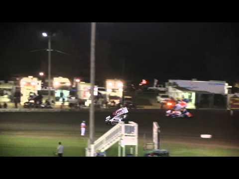 Dominic Scelzi 9/21/12 Ocean Speedway Watsonville Heat Race